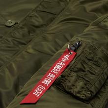 Мужская куртка парка Alpha Industries N3B VF 59 Dark Green фото- 2