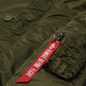 Мужская куртка парка Alpha Industries N3B VF 59 Dark Green фото - 2