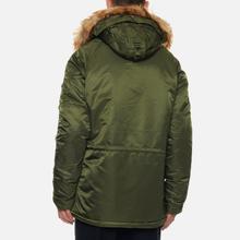 Мужская куртка парка Alpha Industries N3B VF 59 Dark Green фото- 4