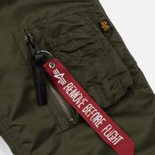 Мужская куртка парка Alpha Industries N3B VF 59 Dark Green фото- 6