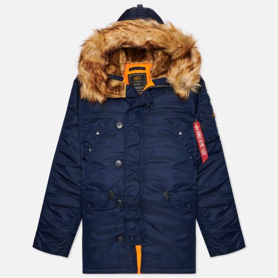 Мужская куртка парка Alpha Industries N3B VF 59 Replica Blue