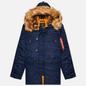 Мужская куртка парка Alpha Industries N3B VF 59 Replica Blue фото - 0