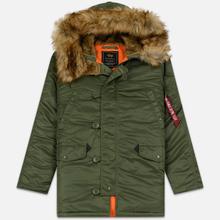 Мужская куртка парка Alpha Industries N3B VF 59 Sage Green фото- 0