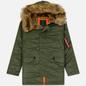 Мужская куртка парка Alpha Industries N3B VF 59 Sage Green фото - 0