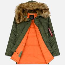 Мужская куртка парка Alpha Industries N3B VF 59 Sage Green фото- 2