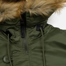 Мужская куртка парка Alpha Industries N3B VF 59 Sage Green фото- 3