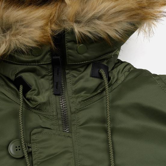 Мужская куртка парка Alpha Industries N3B VF 59 Sage Green