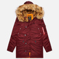Мужская куртка парка Alpha Industries N3B VF 59 Wine Red фото - 0