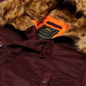 Мужская куртка парка Alpha Industries N3B VF 59 Wine Red фото - 1