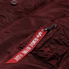 Мужская куртка парка Alpha Industries N3B VF 59 Wine Red фото- 2