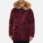 Мужская куртка парка Alpha Industries N3B VF 59 Wine Red фото - 6