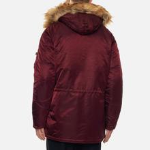 Мужская куртка парка Alpha Industries N3B VF 59 Wine Red фото- 5