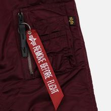 Мужская куртка парка Alpha Industries N3B VF 59 Wine Red фото- 4