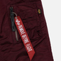 Мужская куртка парка Alpha Industries N3B VF 59 Wine Red фото - 4