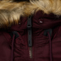 Мужская куртка парка Alpha Industries N3B VF 59 Wine Red фото - 3