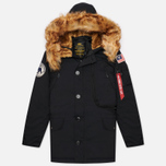 Мужская куртка парка Alpha Industries Polar Black фото- 0
