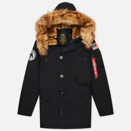Мужская куртка парка Alpha Industries Polar Black