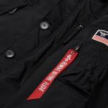 Мужская куртка парка Alpha Industries Polar Black фото- 2