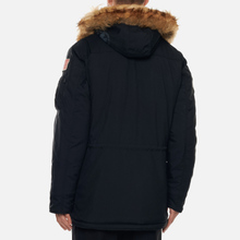 Мужская куртка парка Alpha Industries Polar Black фото- 5