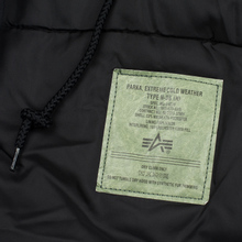 Мужская куртка парка Alpha Industries Polar Black фото- 7