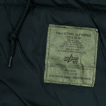 Мужская куртка парка Alpha Industries Polar Dark Petrol фото- 7