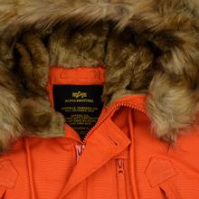 Мужская куртка парка Alpha Industries Polar Flame Orange фото- 1