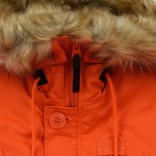 Мужская куртка парка Alpha Industries Polar Flame Orange фото- 3