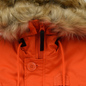 Мужская куртка парка Alpha Industries Polar Flame Orange фото - 3