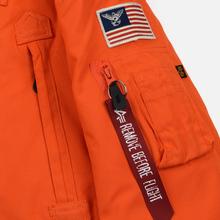 Мужская куртка парка Alpha Industries Polar Flame Orange фото- 6