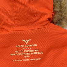 Мужская куртка парка Alpha Industries Polar Flame Orange фото- 8