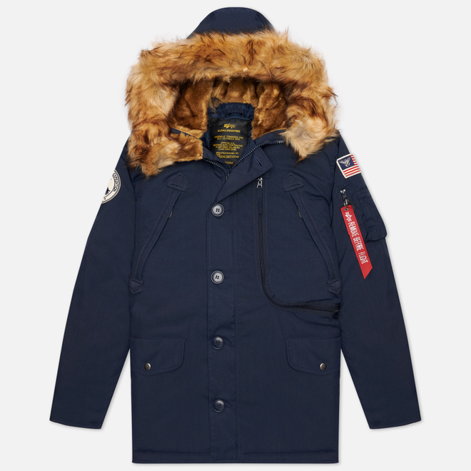 Мужская куртка парка Alpha Industries Polar Replica Blue