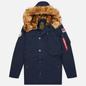 Мужская куртка парка Alpha Industries Polar Replica Blue фото - 0