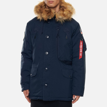Мужская куртка парка Alpha Industries Polar Replica Blue фото- 4