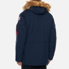 Мужская куртка парка Alpha Industries Polar Replica Blue фото- 5