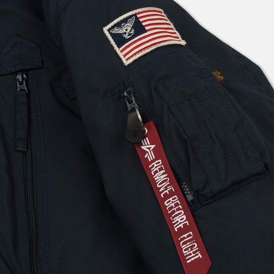 Мужская куртка парка Alpha Industries Polar Replica Blue