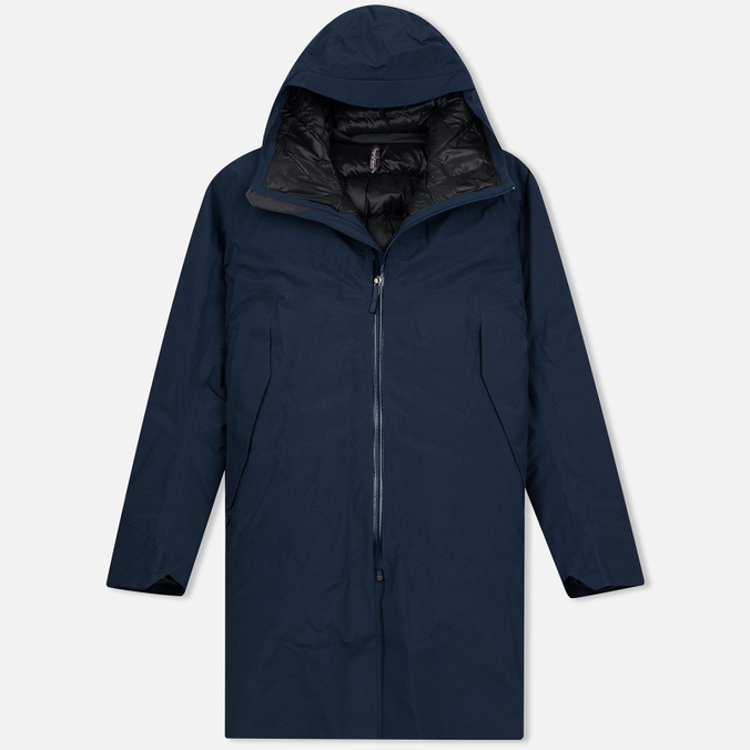 Мужская куртка парка Arcteryx Veilance Monitor Down Dark Navy