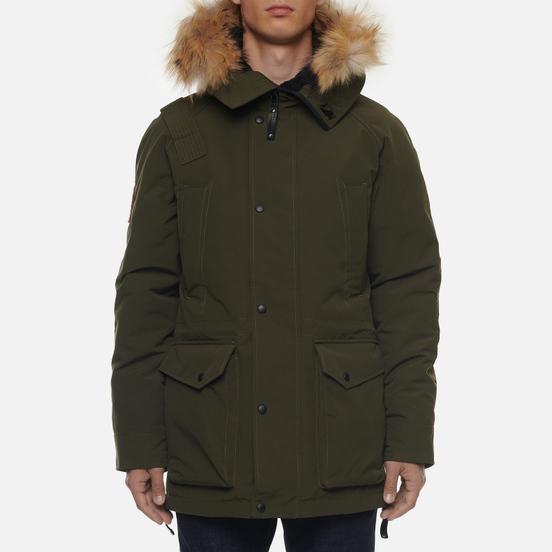 Мужская куртка парка Arctic Explorer Chill Khaki