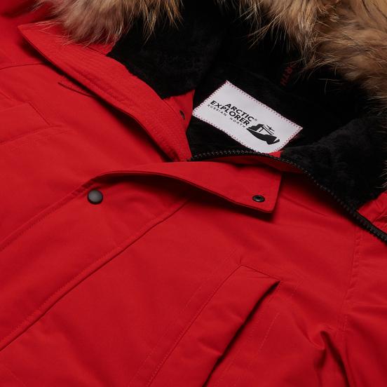 Мужская куртка парка Arctic Explorer Chill Red