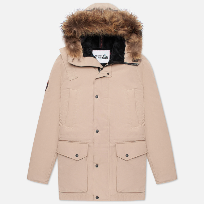 Мужская куртка парка Arctic Explorer Chill Sand