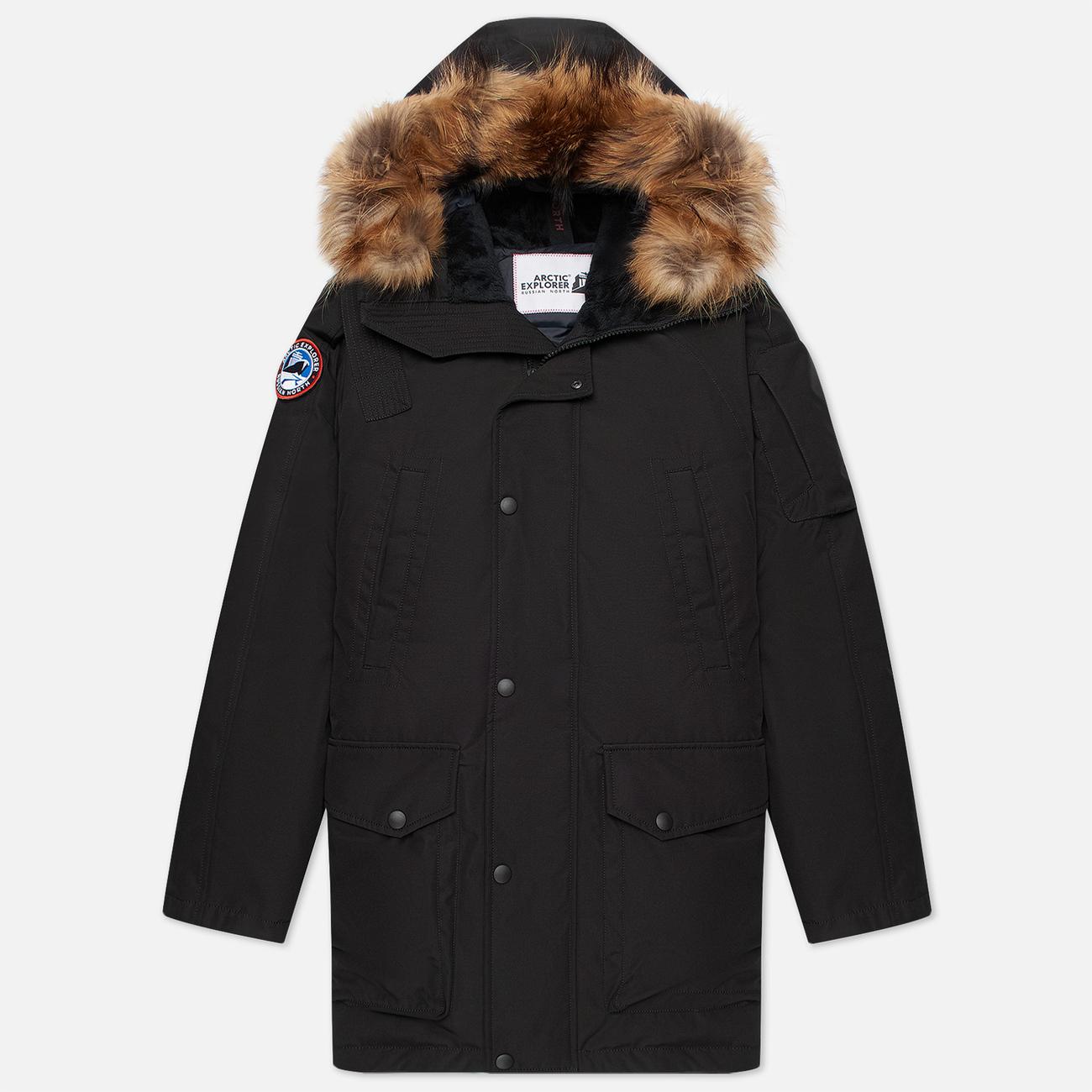 Мужская куртка парка Arctic Explorer MIR-1 Black