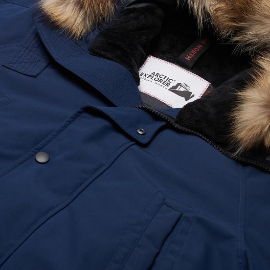 Мужская куртка парка Arctic Explorer MIR-1 Navy