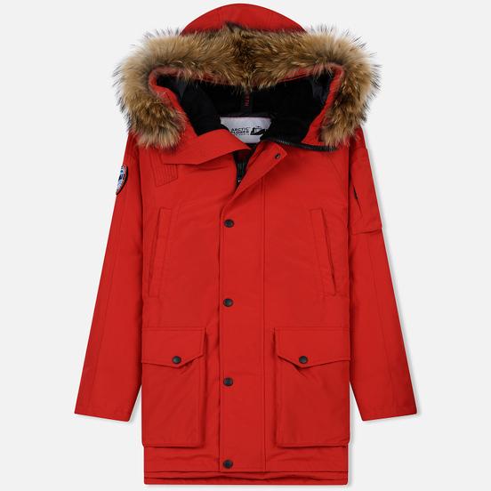 Мужская куртка парка Arctic Explorer MIR-1 Red