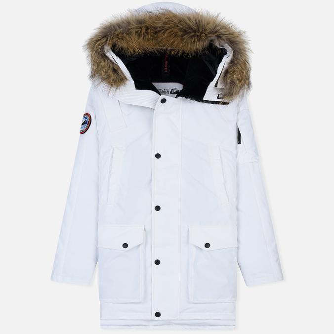 Мужская куртка парка Arctic Explorer MIR-1 White