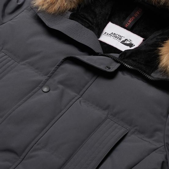 Мужская куртка парка Arctic Explorer Neft Grey