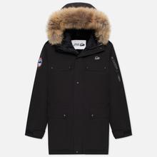 Мужская куртка парка Arctic Explorer Polus Black фото- 0