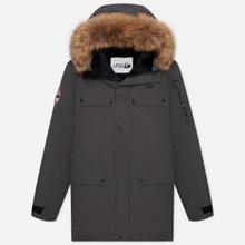 Мужская куртка парка Arctic Explorer Polus Grey фото- 0