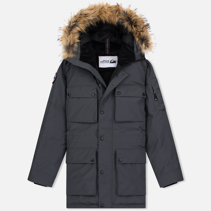 Мужская куртка парка Arctic Explorer SP-19 Grey