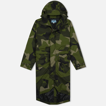 ArkAir B520AA Fully Lined Men's Parka Nylon Swedish Camo