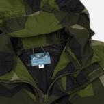 Мужская куртка парка ArkAir B520AA Fully Lined Nylon Swedish Camo фото- 2