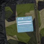 Мужская куртка парка ArkAir B520AA Fully Lined Nylon Swedish Camo фото- 5